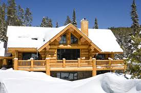 rustic log home plans rustic log home ski chalet in montana