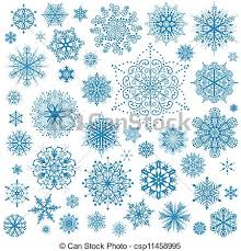 eps vectors of snowflakes christmas vector icons snow flake