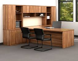 Wooden Office Desk Office Furniture Creative Library Concepts