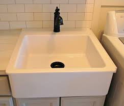 stunning cabinet with best laundry room sink with chrome faucet