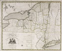 albany map a map of the state of york albany institute of history and