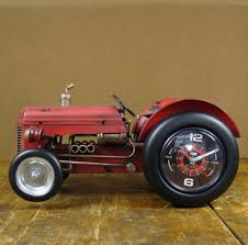 Metal Mantel Clock Compare Prices On Tractor Clock Online Shopping Buy Low Price