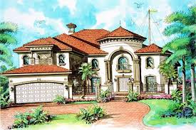 mediterranean home with 5 bdrms 4762 sq ft house plan 107 1026