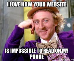 Mobile Meme - meme mobile ready websites chris mendla tech