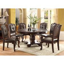 alexandria round dining table u0026 4 side chairs 2150t dining