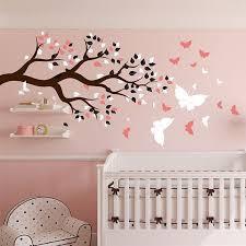 stickers arbre chambre enfant stickers arbre chambre bébé stickers muraux chambre bebe fille