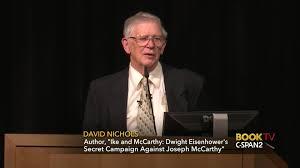 david nichols discusses ike mccarthy apr 5 2017 c span org
