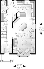 Floor Plans For Narrow Lots by Amsden Narrow Lot Home Plan 032d 0266 House Plans And More