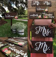 diy wedding signs calligraphy wedding signs