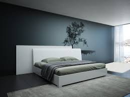 Italian Contemporary Bedroom Furniture Modrest Monza Italian Modern White Bed