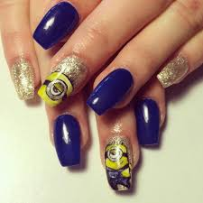 21 royal blue nail art designs ideas design trends premium