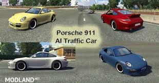 porsche 911 mods porsche 911 ai traffic car mod for ets 2