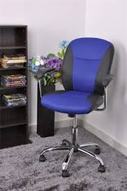 Blue Computer Chair Blue Swivel Chairs Foter
