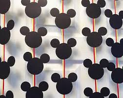 Mickey Mouse Party Theme Decorations - disney photo booth props disney princess photo booth prop