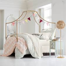 how to decorate canopy bed maison canopy bed pbteen