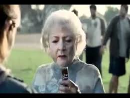 Snickers Commercial Meme - betty white snickers commercial youtube