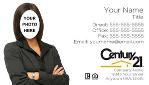Century 21 Business Cards Century 21 Real Estate Century 21 Century 21 Real Estate Agency