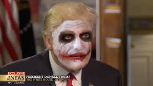 donald trump defends immigration ban as the joker in surprisingly