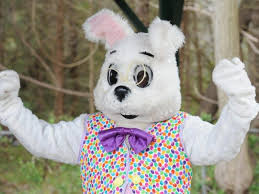 the easter bunny is on the way to the king of prussia mall
