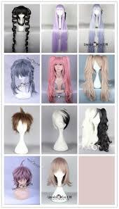 halloween wigs walmart com cosplay halloween wig danganronpa dangan ronpa animie custom