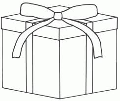 coloring pictures of christmas presents christmas present coloring pages kids fargelegging for barn 146878