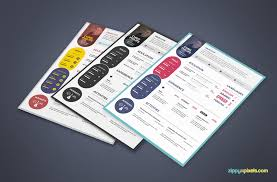 Free Graphic Design Resume Templates 15 Resume Templates Bundle Zippypixels
