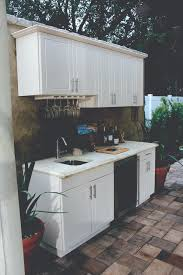 Outdoor Kitchen Cabinets Polymer What Does An Outdoor Kitchen Cost Soleic Outdoor Kitchens