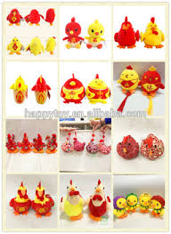 New Year Decoration Product by Hi Ce Selling 2017 Chinese New Year Gift Rooster Keychain