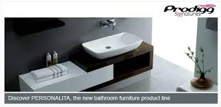personalita the new upmarket range of bathroom furniture from