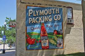 Plymouth Wisconsin Map by Plymouth Murals Map