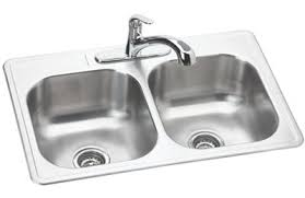 dayton elite stainless steel sink dayton stainless steel 33 34 x 22 34 x 8 1 16 34 equal double