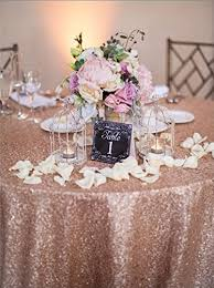 cheap wholesale table linens wholesale 90 x156 rectangle blush sequin table cloths fit for 8ft
