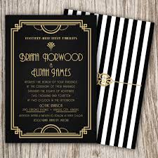 great gatsby wedding invitations the great gatsby wedding invitations lovely 20s party invitations