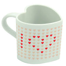 heart shaped mugs i you heart shaped heat chaning mug holycool net