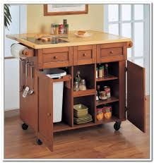 kitchen island with trash bin kitchen astounding kitchen island with trash bin kitchen cart