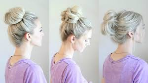hair buns 6 easy buns
