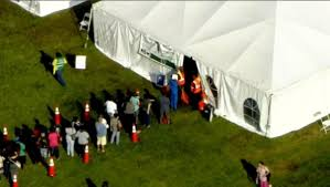 south florida residents line up to apply for benefits after