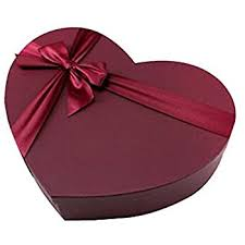 large heart shaped gift box s day gift