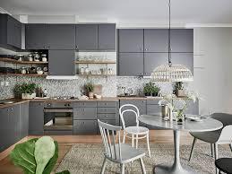 cuisine peinte en gris vert de gris frenchy fancy