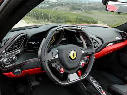 Ferrari 458 Turbo - 488 spider 8 cylinder turbo steering wheel