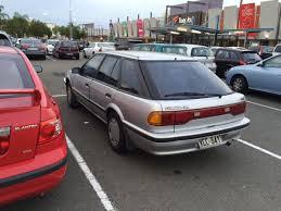 curbside classic 1989 92 ford corsair nissan pintara u2013 a lame