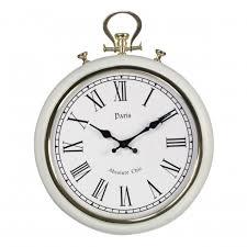 shabby chic wall clocks oscar u0027s boutique