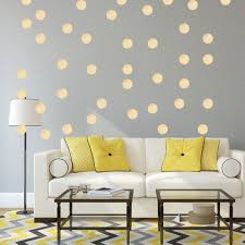 vinyl wall art picture more detailed picture about gold polka
