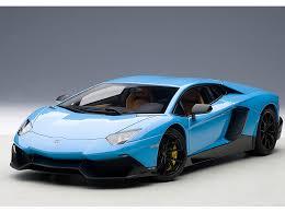 Lamborghini Aventador J Black - autoart