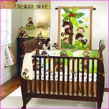 Baby Boy Monkey Crib Bedding Sets Green Monkey Crib Bedding Sets Home Design Ideas