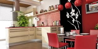 asian kitchen style that bring the natural look allstateloghomes