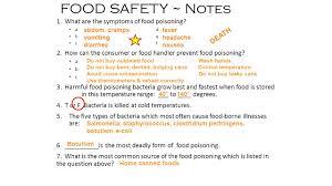 units 1 2 u0026 3 equivalent measures food safety nutrition ppt