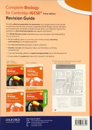 complete biology for cambridge igcse r revision guide ron