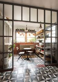 industrial farmhouse dining room dining room industrial with