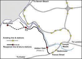 Ireland Rail Map Maps Portishead Railway Group